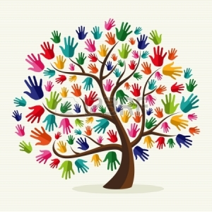 20633178-diversity-multi-ethnic-hand-tree-illustration-over-stripe-pattern-background--file-layered-for-easy-