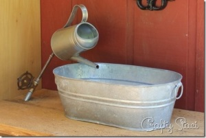 galvanized tub clip art