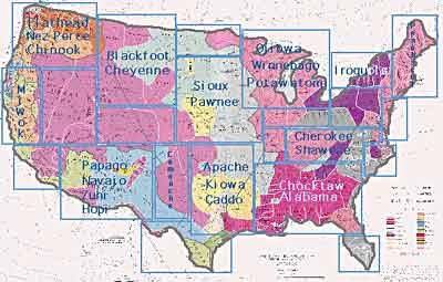 Differential Power And Indian Child Welfare Part Two Voices - Us welfare map