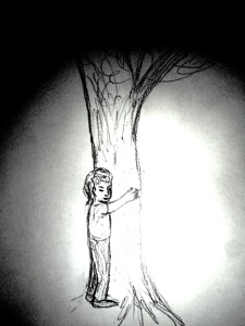 draw tree hug 3