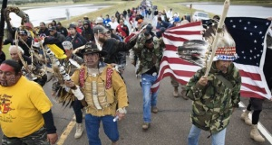 Standing Rock Veterans Heading to Flint source -Usuncut.com